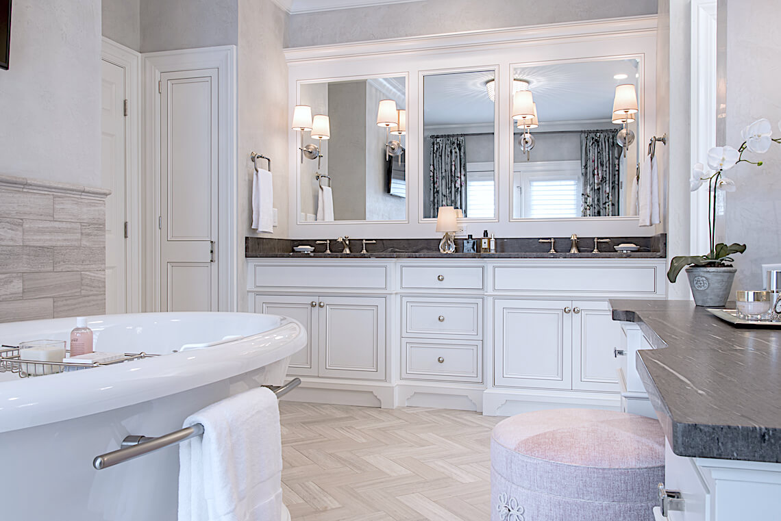 Admirable Traditional Master Bathroom Property Enhancements St Louis Download Free Architecture Designs Xaembritishbridgeorg